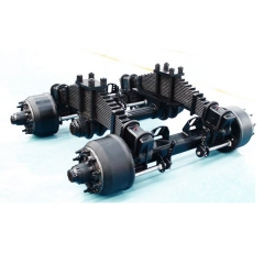 plaque basse Drum Bogie Suspension
