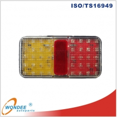 100 % waterproof LED camion feux